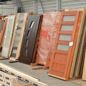 Drzwi - skład drewna