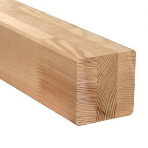 Kantówka klejona - skład drewna