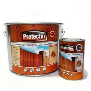 Protector Impregnat koloryzujący - skład drewna