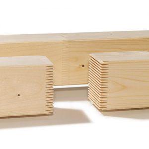 Łaty klejone - skład drewna Drewpłyt