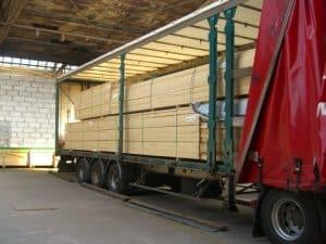 Współpraca dostawa - skład drewna