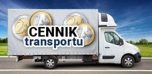Cennik usług transportowych