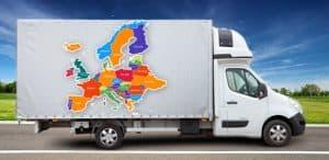 Usługi transportowe międzynarodowe